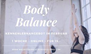 Body Balance Unterricht