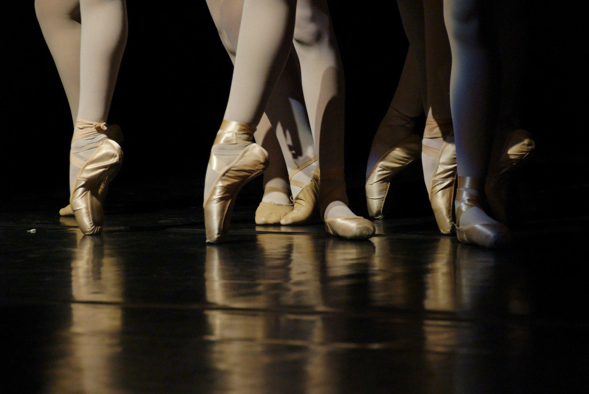 Ballerinas in der Tanzschule in Donauwörth - Bayern